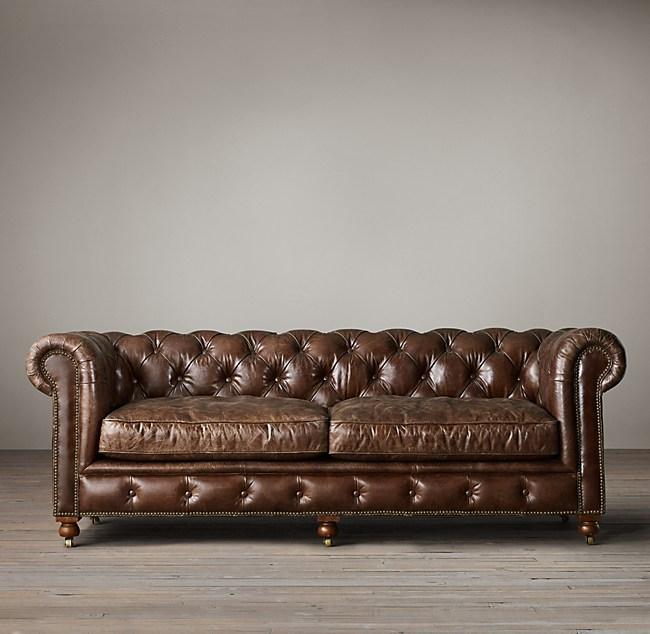 Pee Kensington Leather Sofa