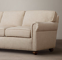 "112"" The Petite Lancaster Upholstered Sofa"