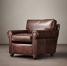 Petite Lancaster Leather Chair