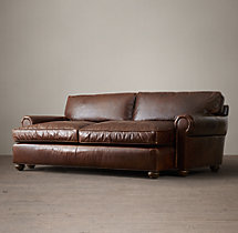 Original Lancaster Leather Daybed