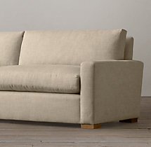 6' The Petite Maxwell Upholstered Sofa