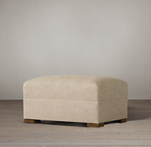 The Petite Maxwell Upholstered Ottoman