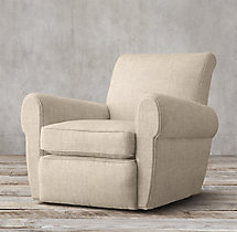 Parisian Upholstered Swivel Chair