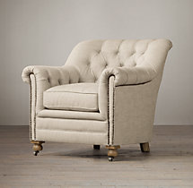 Sandringham Upholstered Club Chair