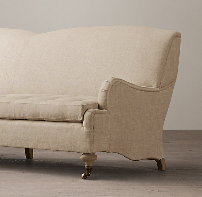 Outstanding 8 19Th C English Roll Arm Upholstered Sofa Home Interior And Landscaping Ologienasavecom