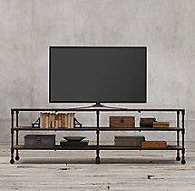Dutch Industrial Media Console