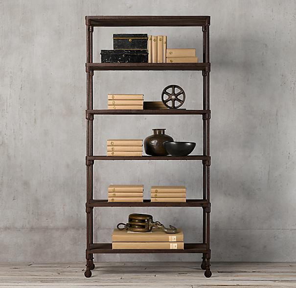 Diy Industrial Decor: DIY Industrial Style Bookshelf