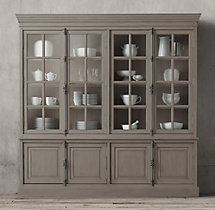 French Casement 4 Door Sideboard Amp Hutch