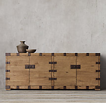 Heirloom Silver-Chest Sideboard