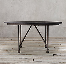 Flatiron Round Dining Table