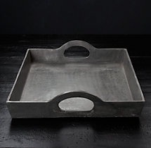 Grand Brasserie Cast Aluminum Large Rectangular Tray