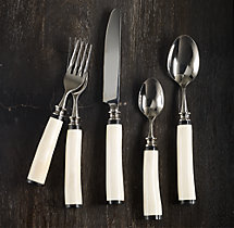 Natural White Bone 5-Piece Place Setting