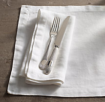 Garment-Dyed Textured Linen Napkins (Set of 4)