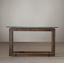Reclaimed Brazilian Wood Console