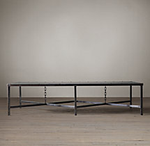 1920s English Mail Sorter Chain Coffee Table