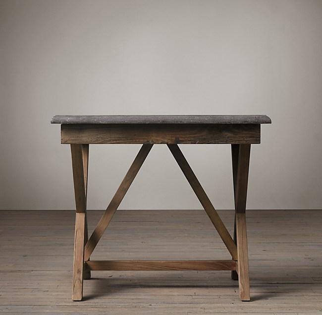 Bluestone X Base Side Table