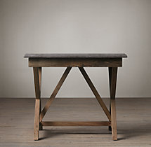 Bluestone X-Base Side Table