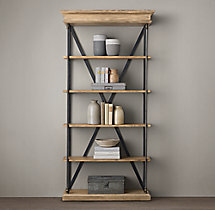 Parisian Cornice Single Shelving