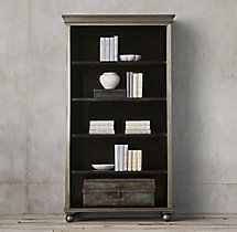 Annecy Metal-Wrapped Single Shelving