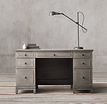 "Annecy Metal-Wrapped 54"" Desk"