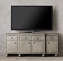 "Annecy Metal-Wrapped Panel 68"" Media Console"