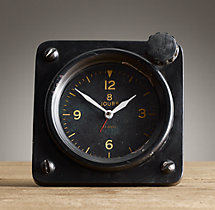 1950S French Flight Deck 8-Day Clock