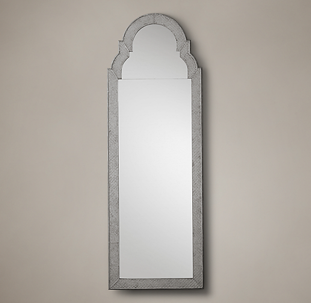 1710 english baroque leaner mirror for Baroque leaner mirror
