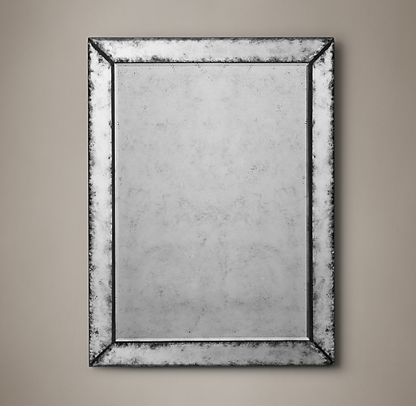 18th C Venetian Antiqued Glass Mirror