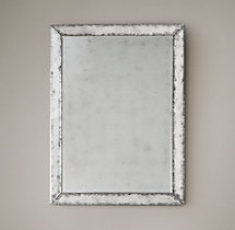 18th C. Venetian Antiqued Glass Mirror
