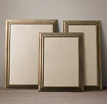 English Aged Pinboards – Antique Brass
