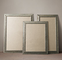 English Aged Pinboards –  Pewter