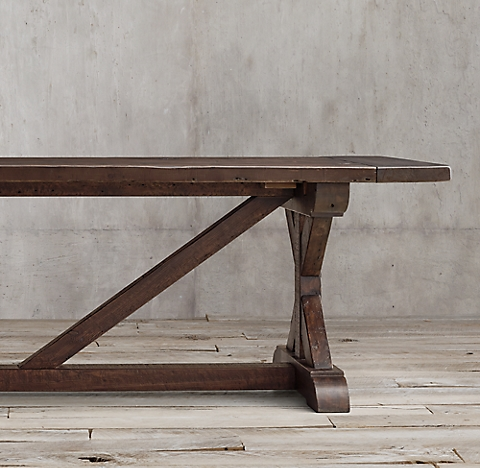 prod E DTL Lovely - Model Of restoration hardware salvaged wood table In 2019