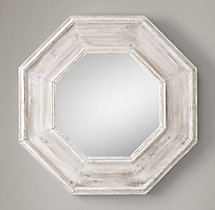 Salvaged Octagonal Mirror
