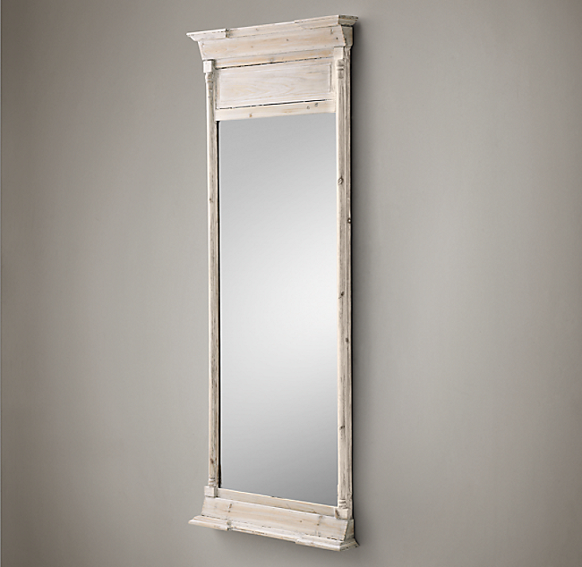 Trumeau Leaner Mirror White Color Preview Unavailable