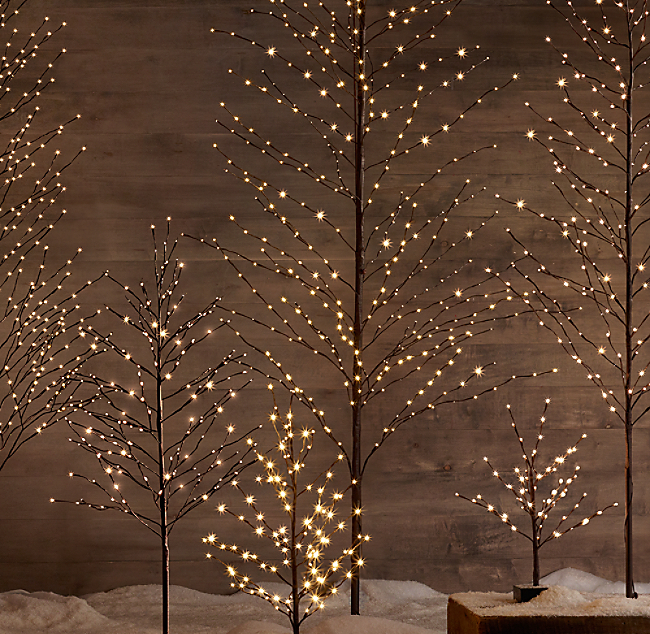click to zoom - Restoration Hardware Christmas Lights