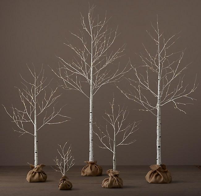 Brand new Birch Winter Wonderland Trees RC68
