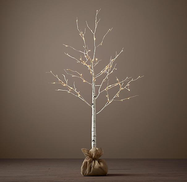 Perfect Birch Winter Wonderland Trees XU41