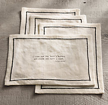 Literary Quote Cocktail Napkin Set, Oscar Wilde