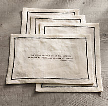 Literary Quote Cocktail Napkin Set, Dorothy Parker