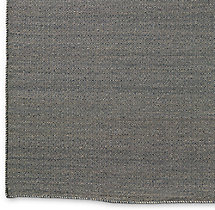 Diamond Tile Flatweave Rug Swatch - Charcoal