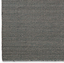 Diamond Tile Flatweave Rug Swatch - Grey