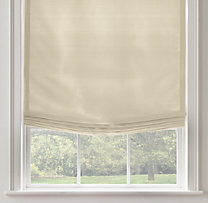 Thai Silk Solid Relaxed Roman Shade