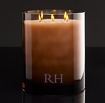 Belgian Linen Grand Filled Candle