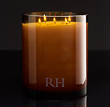 Italian Leather Grand Filled Candle