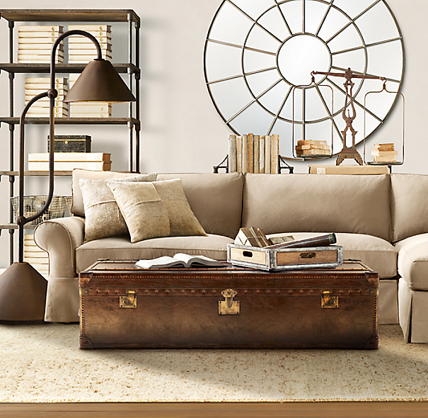 Restoration Hardware Pillows: South American Cowhide Pillow Cover