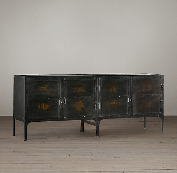 Industrial Tool Chest Sideboard
