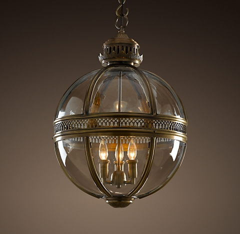 More Sizes Finishes Victorian Hotel Pendant