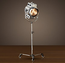 1940s Hollywood Studio Floor Lamp