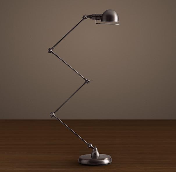 Atelier scissor task floor lamp for Atelier task floor lamp bronze