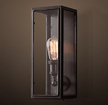 Union Filament Clear Glass Sconce